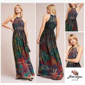Anthropologie Geisha Designs Kalinka Maxi Dress